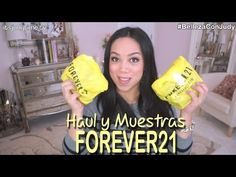 Haul forever21: Nueva línea Premium Beauty - BellezaConJudy ItsJudytime Spanish Beauty makeup  tutorials hair