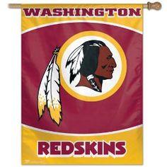 NFL Washington Redskins 27-by-37-Inch Vertical Flag