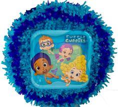 World of Pinatas - Bubble Guppies Pull String Pinata, $29.99 (http://www.worldofpinatas.com/bubble-guppies-pull-string-pinata/)