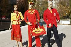 And Spain's bright outfits? Perhaps not austere enough...