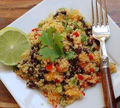 mango quinoa salad paleo