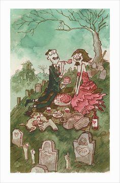 ✿ Zombies in Love ~ Artist Scott C ✿