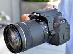 Canon's newest dSLR, the EOS Rebel T4i, uses a lens designed for contrast autofocus.
