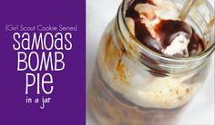 Samoas Bomb Pie