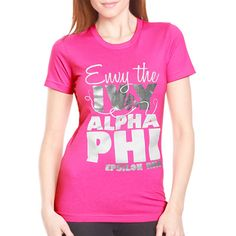 "Sorority Rush / Recruitment Shirts ""envy the ivy 2"" Design.  $9.90 ea.  #Greek #sorority #rush #recruitment"