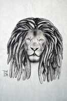 Lion with dreads tattoo drawings - photo#20