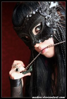 Black Masquerade/Carnival Mask.