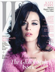 Katy Perry: America's Biggest Export Goes Glam - Katy Perry W mag November 2013 cover
