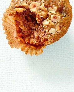 Muffins // Hazelnut-Pear Muffins Recipe