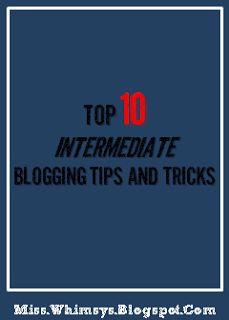 Good to know: Blogging Tips & Tricks