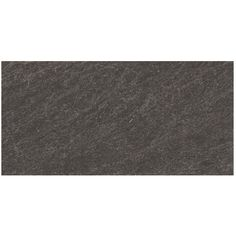 Shop Style Selections 12-in x 24-in Galvano Charcoal Glazed Porcelain Floor Tile - C's bathroom