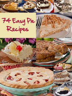 Looking for the perfect way to celebrate Pi Day? You've got plenty of options with our collection of 74 Easy Pie Recipes. Plus, we've even thrown in a few homemade crust recipes so you can mix and match how you please! This is one dessert collection you'll want to save for your next potluck. food recipes, bake, strawberri rhubarb, rhubarb pie, strawberries, recip pie, pie recipes, cakes and pies recipes, dessert