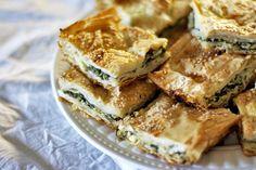 Turkish Spinach Pie or Cheese Pie (Borek)