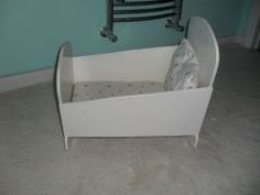 How to make a baby doll cradle.