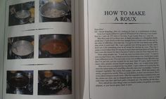 How to make a roux, according to Justin Wilson, the original cajun cook, before cajun cooking was cool. I remember Maw Maw watching his shows. I loved the way he talked, and you can hear it in his recipe here. This is snapped from his out-of-print Gourmet and Gourmand Cookbook.