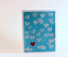 decoupage valentines cards with Mod Podge - very easy Valentine's Day craft!