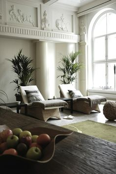 Chic lounge chairs