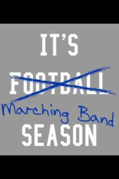 Marching band :)