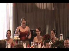 *NSYNC Maid of Honor Speech. Now THAT is a maid of honor!! :) ommmmmg this is amazing.