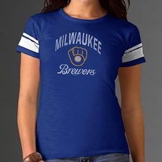 Can't get enough of that retro #Brewers look? Neither can we. Check this snazzy T!