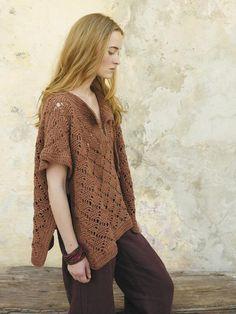 Gozo by Marie Wallin, via New Favorites: Groovy crochet tunic : : Fringe Association