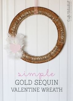 Simple Gold Sequin D