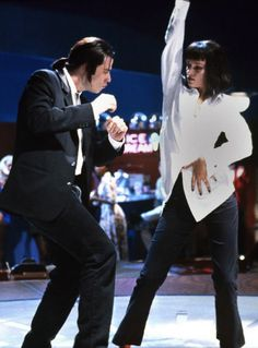 John Travolta & Uma Thurman - Pulp Fiction (Quentin Tarantino, 1994)