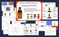 Speech Room News: Martin Luther King Jr. Speech & Language Activities $