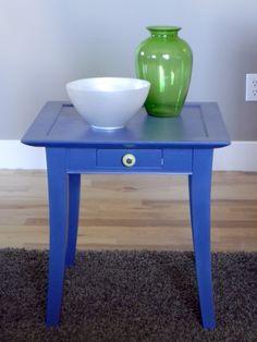 great little table redo