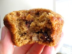 Sweet Potato Fruit and Nut Muffins using a cake mix.