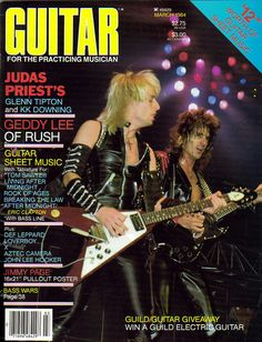 Judas Priest on the Cover of Guitar for the Practicing Musician
