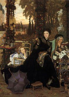 A Widow (c. 1868) by James Jacques Joseph Tissot