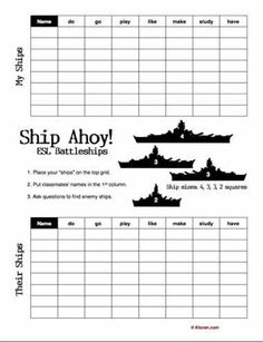 Battleship with words game. Could use for character traits or bible people or books of the bible...