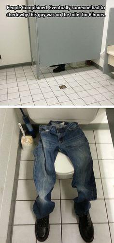 Genius prank at work…