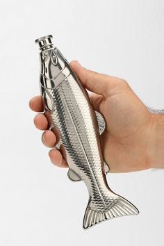 Stainless steel Fish Flask! #urbanoutfitters