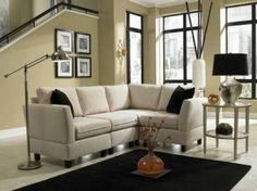 Sectionals - great for those smaller rooms.