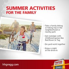 Start making memories with your family this #summer with these 4 #activities
