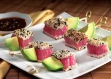 ... sear tuna avocado recipes skewers appet sushi seafood tuna skewer eat