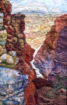 Grand Canyon Vista by Jeanine Malaney