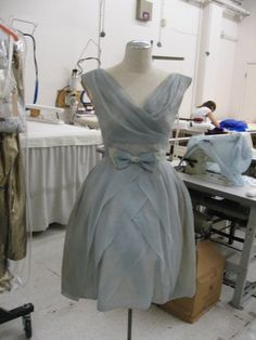 the pastel blue dress that Summer wore to the wedding in 500 Days of Summer. This was custom made for Zooey Deschanel