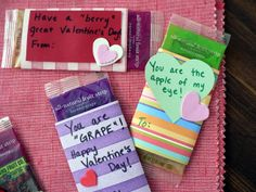 How to: Healthy Valentine Treats to Give Away - Bless This Mess