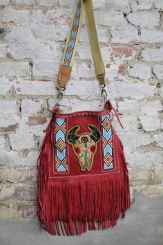 The Culley purs, tooled leather, bohemian fashion, western style, bag, wild bleu, cowgirl, closet, fring
