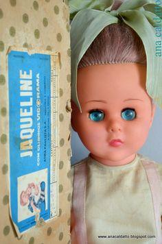 Antiga Boneca Jaqueline da ATMA 1964