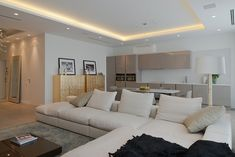 apartment Moscow Smooth, Elegant and Highly Contemporary Moscow Apartment by SL project