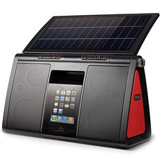 Soulra XL Sound System with Solar Panel