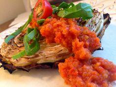 SCD Cabbage Steaks w/ Italian Red Sauce