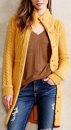 Marigold sweater #anthrofave