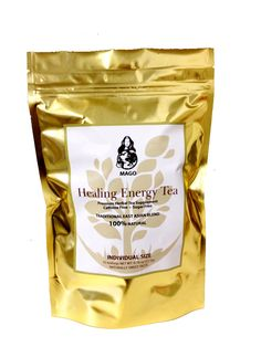 Healing Energy Tea is made up for 12 blended Asian herbs