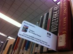 Ways to display/highlight eBooks courtesy of Florida International University (FIU) Library.