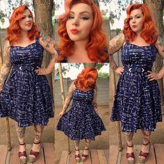 Pretty Blue Plus Size Dress